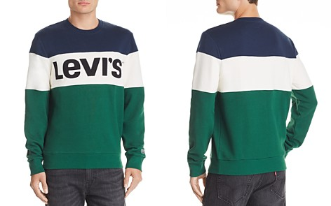 Levi's Color-Block Logo-Embroidered Sweatshirt - Bloomingdale's_2