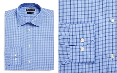 The Men's Store at Bloomingdale's Windowpane Regular Fit Dress Shirt_2