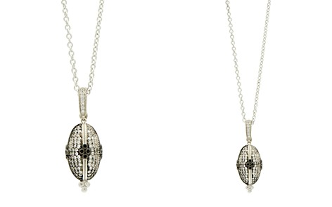 "Freida Rothman Oval Pavé Pendant Necklace, 27"" - Bloomingdale's_2"