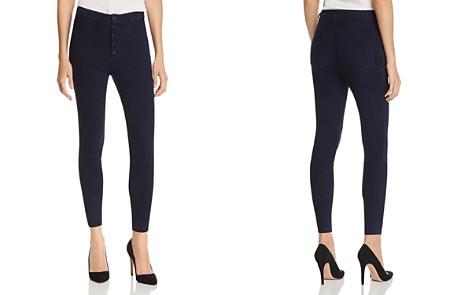 Alice + Olivia Mikah Suede Skinny Pants - Bloomingdale's_2
