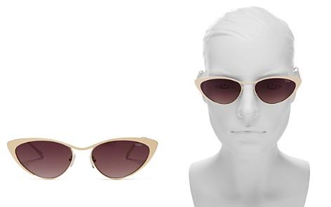 Quay Women's Boss Cat Eye Sunglasses, 55mm - Bloomingdale's_2
