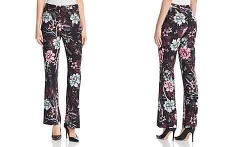 Badgley Mischka Satine Straight Floral Print Pants - Bloomingdale's_2