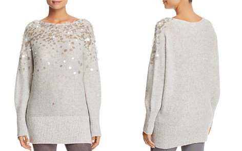 Lafayette 148 New York Embellished Dolman Sweater - Bloomingdale's_2