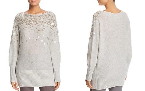 Lafayette 148 New York Embellished Dolman Sweater - Bloomingdale's_2