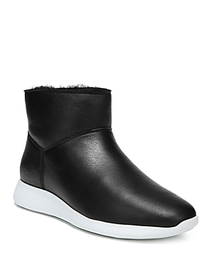 Vince Women's Adora Leather & Shearling Sneaker Boots