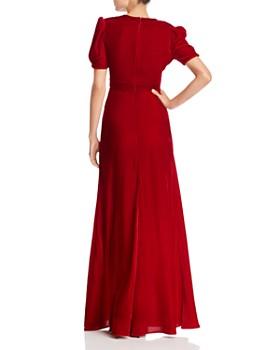 Jill Jill Stuart - Plunging Velvet Gown