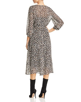 Marella - Leda Leopard-Print Midi Dress - 100% Exclusive