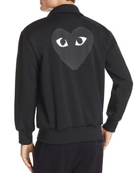 Comme Des Garcons PLAY - Heart Appliqué Track Jacket
