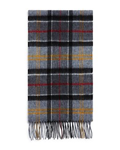 Barbour - Fringed Tartan Scarf