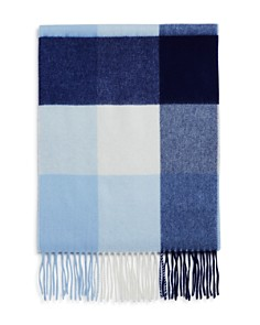 C by Bloomingdale's - Cashmere Plaid Scarf - 100% Exclusive