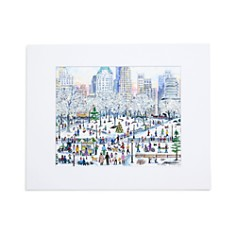 "Michael Storrings Central Park Holiday Print, 11"" x 14"" - Bloomingdale's_0"