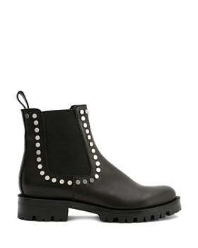 Dolce Vita - Women's Peton Studded Leather Chelsea Booties