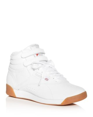 Freestyle Leather High Top Sneakers