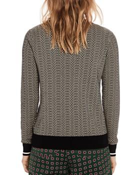 Scotch & Soda - Printed Crewneck Sweater