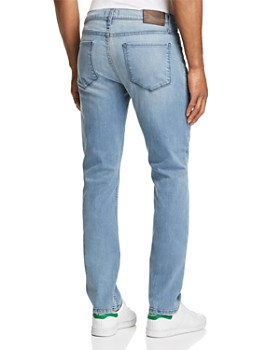 PAIGE - Federal Straight Slim Fit Jeans in Heath