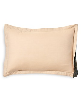 "Robert Graham - Brushed Chambray Decorative Pillow, 12"" x 18"""