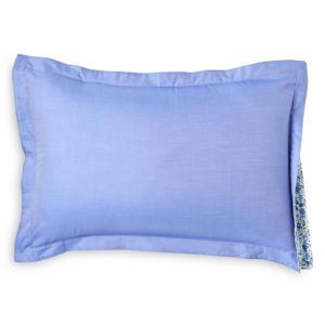 Robert Graham Brushed Chambray Decorative Pillow, 12 x 18