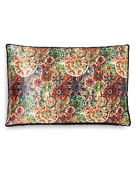 "Robert Graham - Mandala Decorative Pillow, 14"" x 22"""