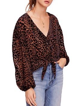 Free People - Wild Dreams Printed Blouse