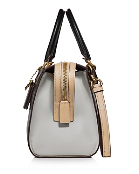 COACH - x Selena Gomez Bond Color-Block Leather Satchel