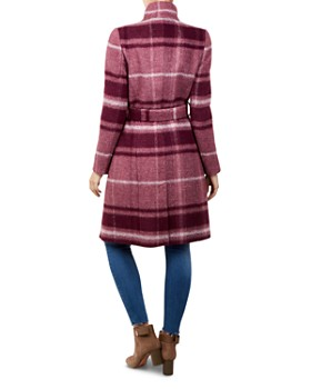 Ted Baker - Skaalet Check Wrap Coat