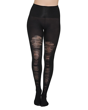 Spanx Tights DESTROYED TUMMY SHAPING TIGHTS