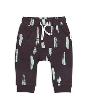 Miles Baby - Boys' Paint Stroke Jogger Pants - Baby