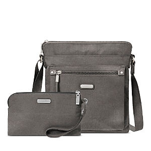 Baggallini New Classic Go Bag with Rfid Phone Wristlet
