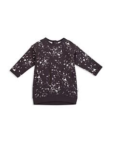 Miles Baby Girls' Paint Splatter Sweatshirt Dress - Baby - Bloomingdale's_0