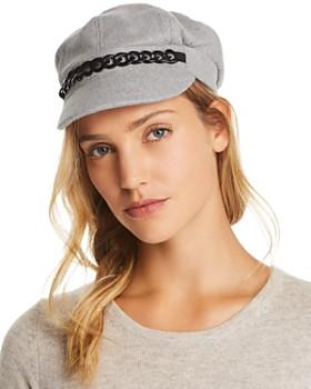 August Hat Company - Chain-Trim Newsboy Cap