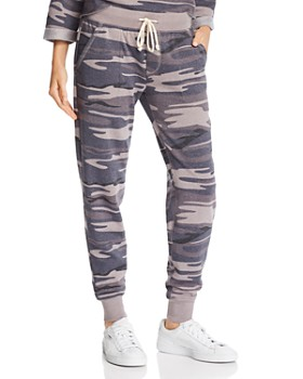 ALTERNATIVE - Camo Fleece Jogger Pants - 100% Exclusive