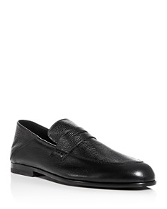 Harrys of London - Men's Edward Leather Apron Toe Penny Loafers