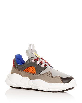 ec578cff7330 Versus Versace Men s Color-Block Lace-Up Sneakers   Bloomingdale s