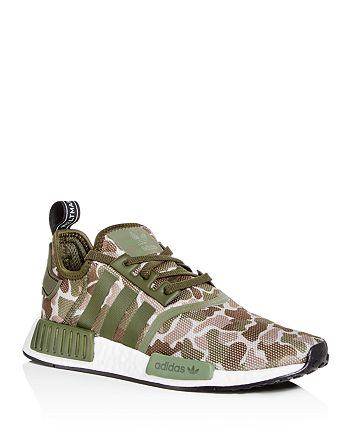 Adidas Men S Nmd R1 Camo Print Lace Up Sneakers Bloomingdale S