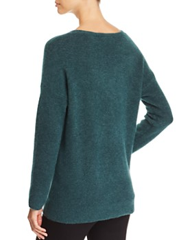 Eileen Fisher Petites - Merino Wool Drop Shoulder Sweater