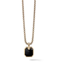 David Yurman Roman Amulet in 18K Gold with Black Onyx - Bloomingdale's_0