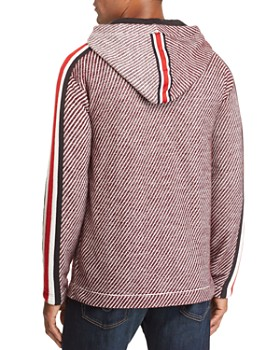 Tommy Hilfiger - x Lewis Hamilton Textured Hooded Sweatshirt
