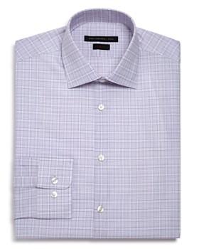 John Varvatos Star USA - Checked Graph Slim Fit Dress Shirt