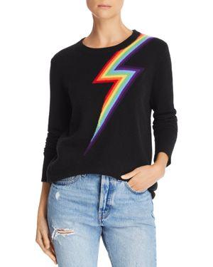 Adeleine Thopson Styx Rainbow Sweater Black