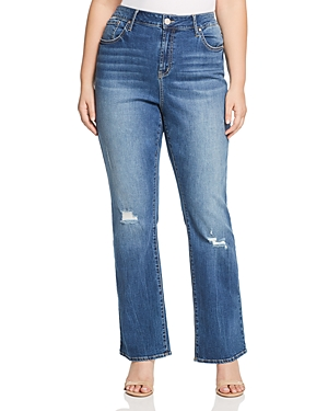 Seven7 Jeans Plus Distressed Jeans in Reeves