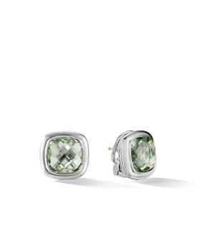 David Yurman Albion Stud Earrings In Prasiolite