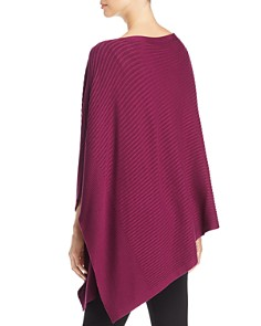 Eileen Fisher - Ribbed Asymmetric Poncho