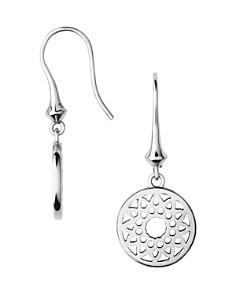 Links of London Timeless Sterling Silver Filagree Disc Drop Earrings - Bloomingdale's_0