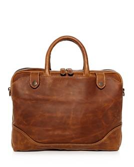 Frye - Logan Slim Leather Briefcase