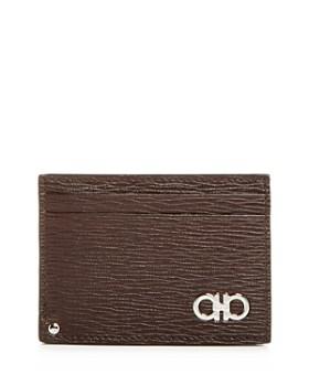Salvatore Ferragamo - Revival Gancini Leather Card Case