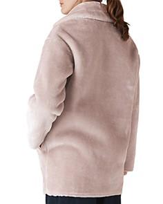 Whistles - Faux-Fur Cocoon Coat
