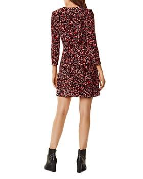 KAREN MILLEN - Ruffled Leopard Print Dress