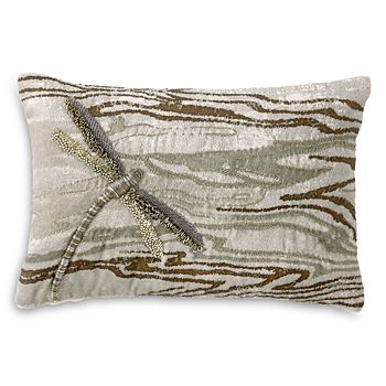 "Michael Aram - Dragonfly Decorative Pillow, 8"" x 12"""