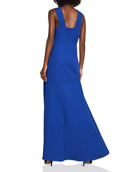 Bcbgmaxazria High Low Crepe Gown 100 Exclusive