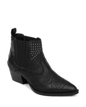 Splendid - Women's Clooney Leather Western Booties
